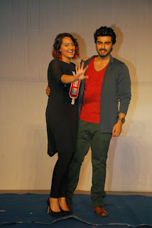 Sonakshi Sinha Latest Pictures with Arjun Kapoor at Tevar Movie Promotion  14
