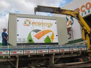 ECONERGY - Geradores de energia. Garantia de luz em seus eventos