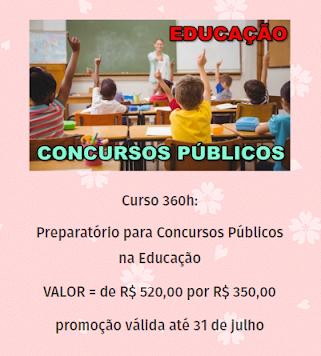 Curso Preparatório para Concursos na Educação