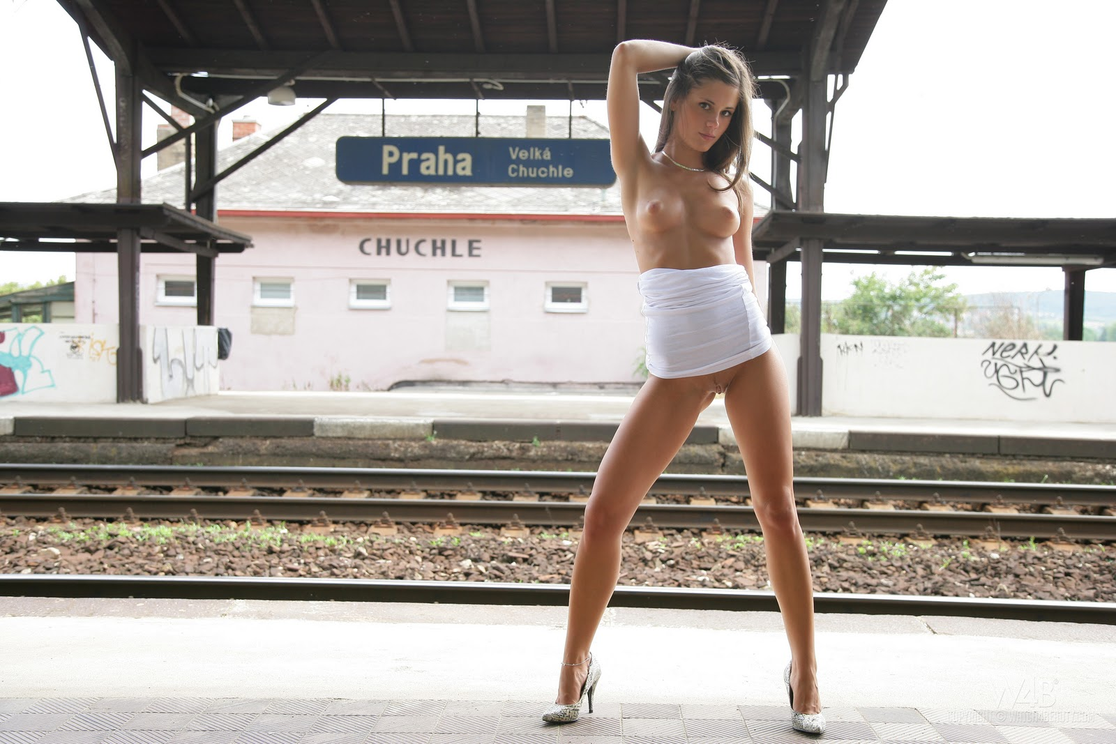 Little Caprice Train Stop Full Set Hq