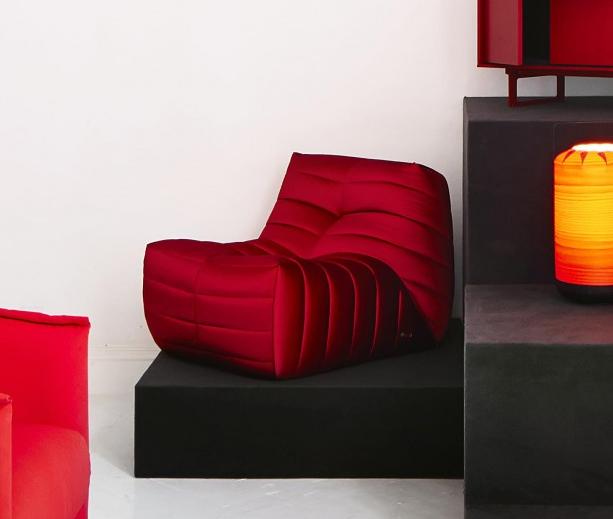 Muebles de dise o moderno y decoracion de interiores rojo for Exposicion muebles barcelona