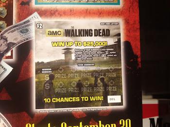 Walking Dead Lottery Tickets Out Soon