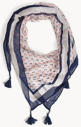 Forever 21 set sail tassel scarf