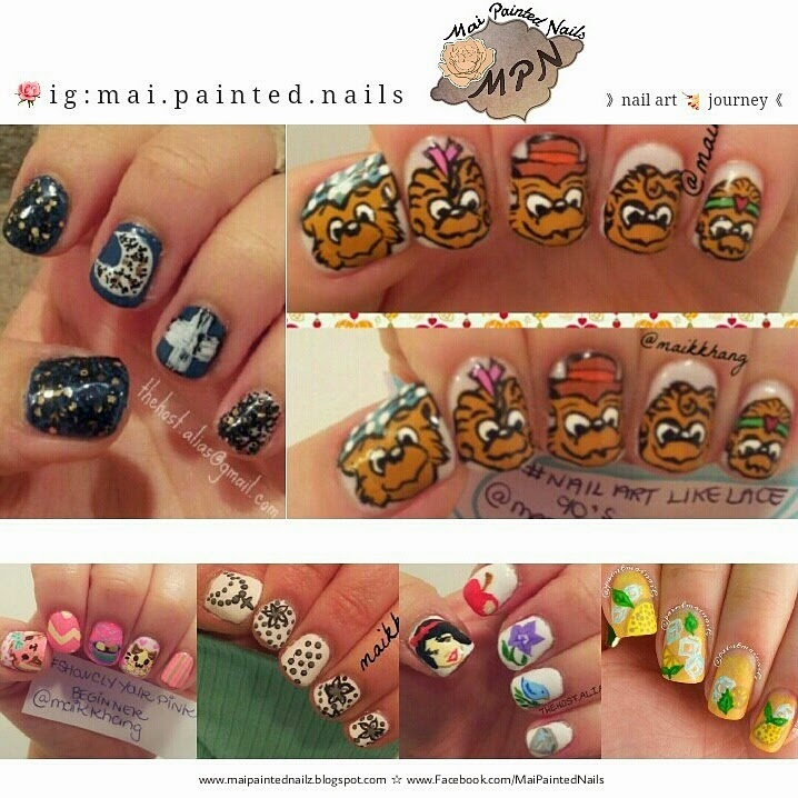 Mai Painted Nails : Mai Nail Art Journey. (2012-present)
