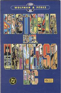 COMICS: Historia del Universo DC