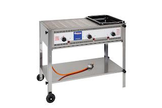 Gratar pe Gaz, Produs Profesional Horeca, Pret, Model 3000, Sistem grill, Grill pe Gaz