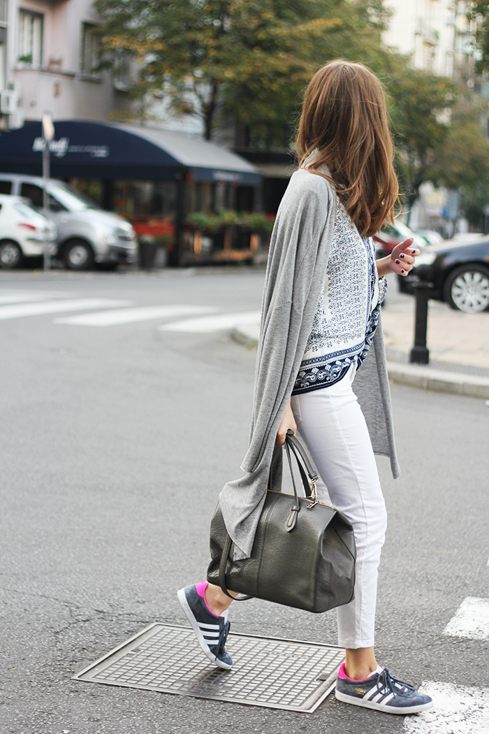 Grey Jeans Fashion Blog