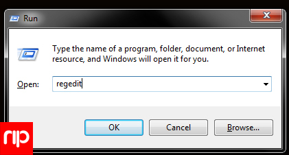 regedit-teknik komputer