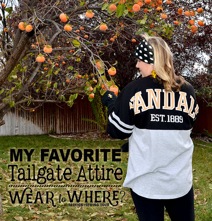 Tailgate attire where to wear tour