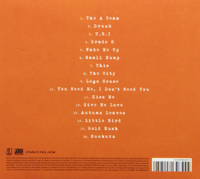 A2 Media Studies Digipak Anaylsis Ed Sheeran X