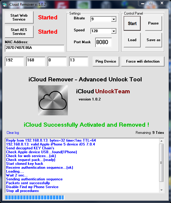 icloud activation bypass tool mobile version