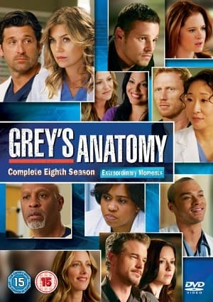 Greys Anatomy - A Anatomia de Grey 8ª Temporada Completa Séries Torrent Download capa