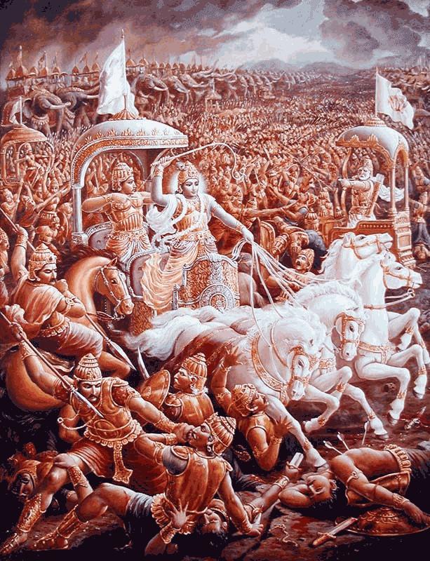 Pertempuran Pandawa-Kurawa di Padang Kurusetra