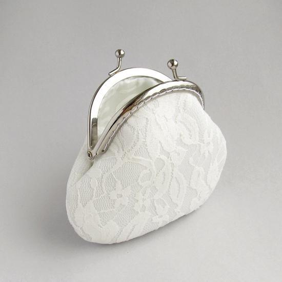 свадебный кошелек, lace purse