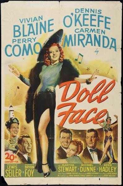 Cover, dvd, carátula: Cara de muñeca | 1946 | Doll Face