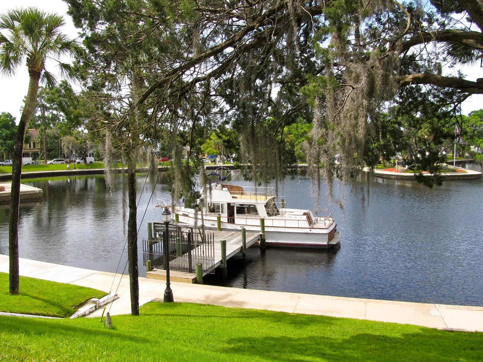 A Serene Scene at Spring Bayou