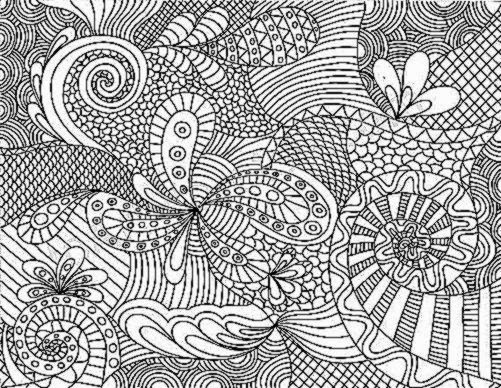 coloring pages zentangle animals coloring pictures for adults free