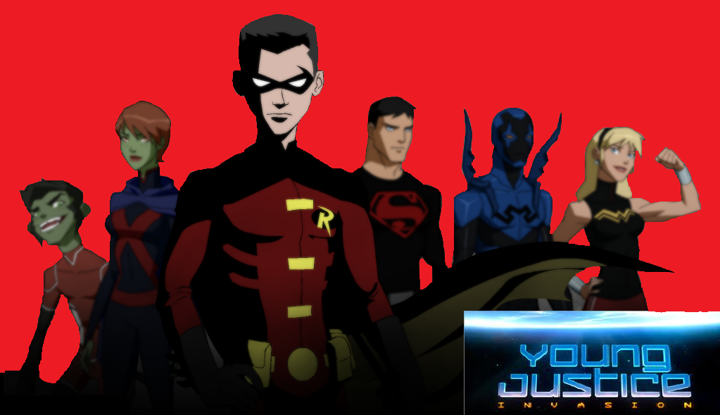 Young Justice Logo Young Justice Invasion