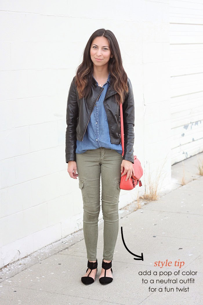 how to style chambray shirt