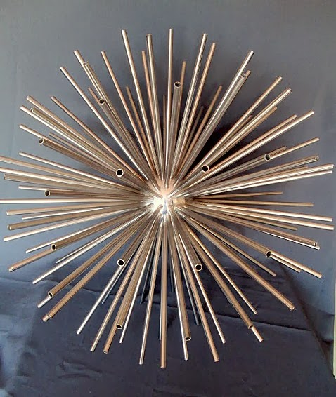 SPUTNIK SCULPTURE BY CURTIS JERE 1960