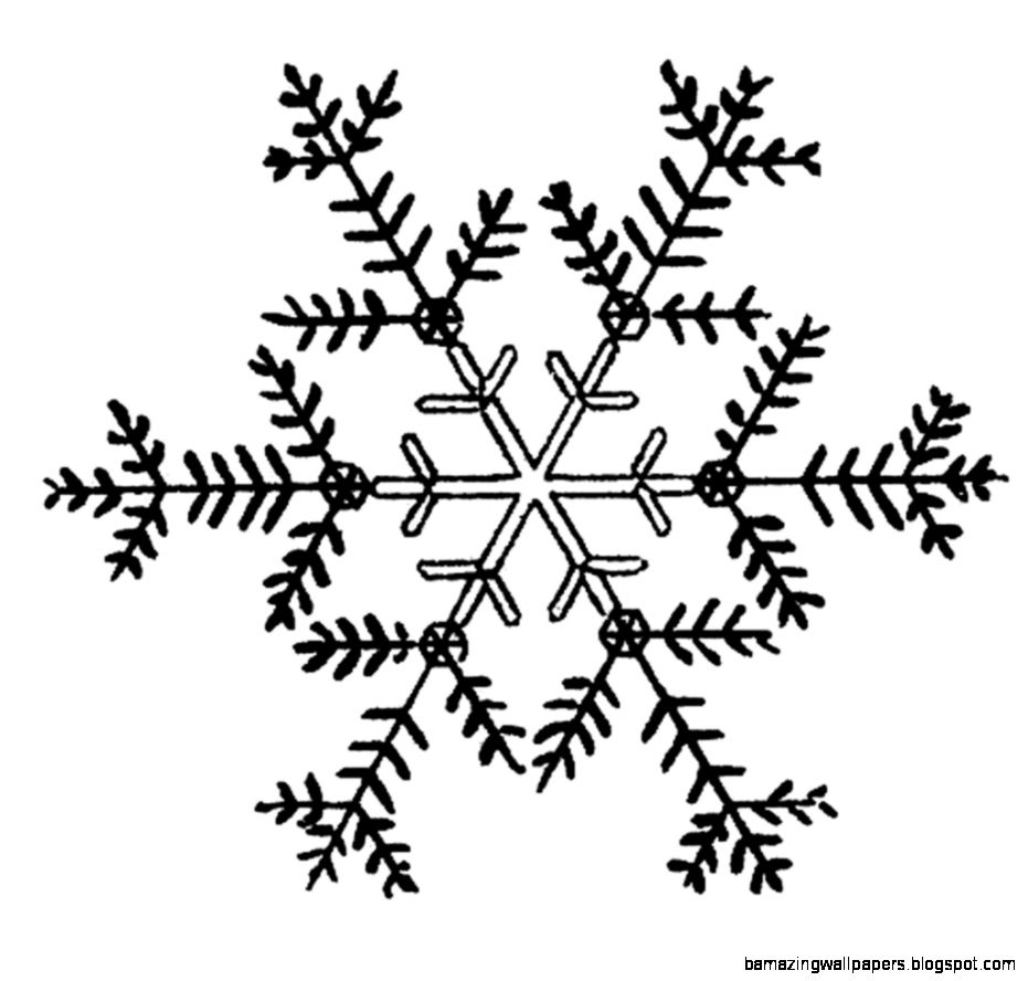 Free Snowflake Border Clipart   The Cliparts
