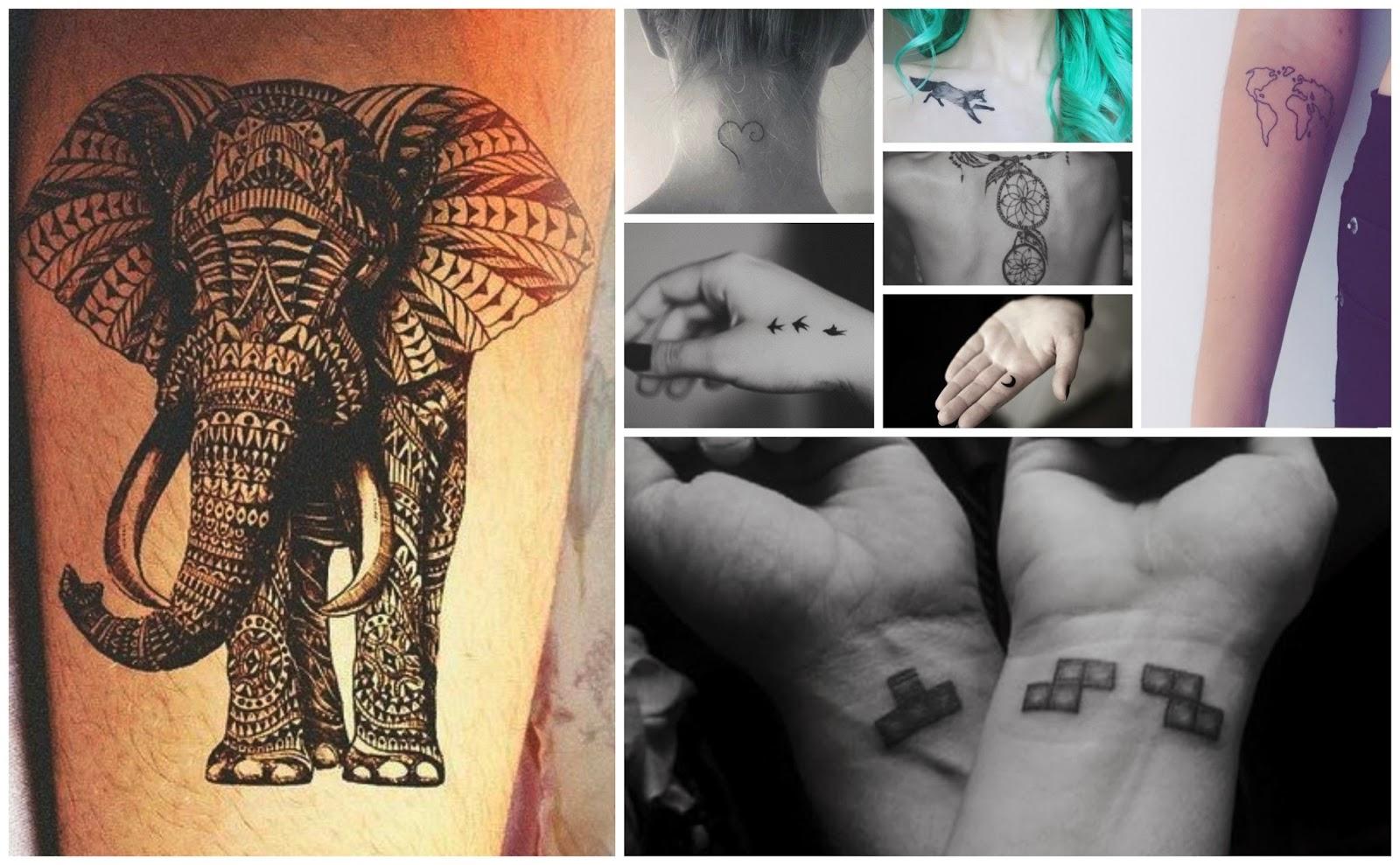Nanna Katrine Sejr: Inspiration; tatoveringer