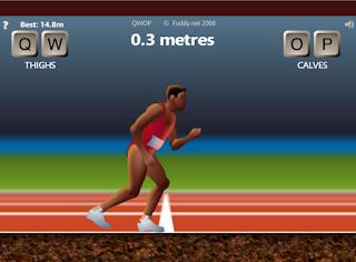 QWOP, juego dificil pc, atletismo, atleta