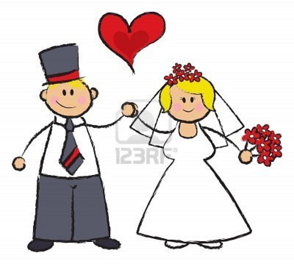Cartoon Muslim Couple Picture