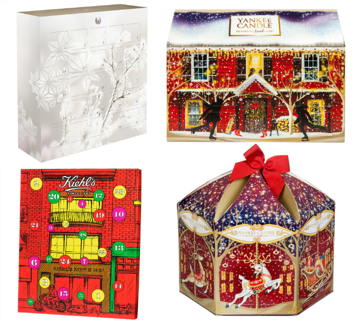 Beauty Adventskalender 2015 - Dr. Hauschka, Yankee Candle, Kiehl´s
