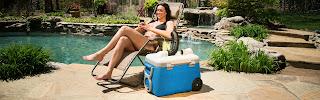 Cooler ou ar condicionado portátil ?! O importante é que gela cerveja
