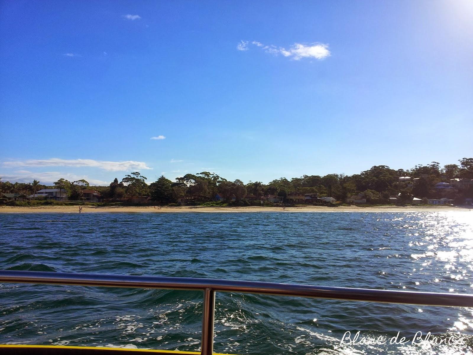 Merta ja rantaa Sydneyn Cronullassa - www.blancdeblancs.fi