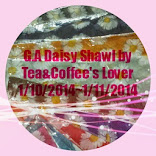G.A Daisy Shawl by Tea&Coffee's Lover