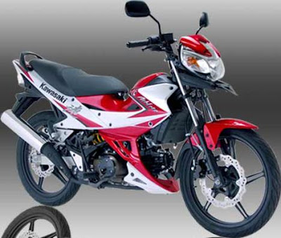 Kawasaki Athlete 2012 Red White