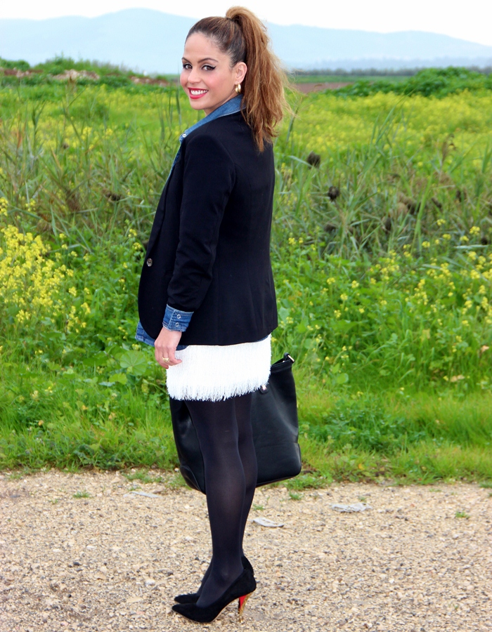 בלוג אופנה Vered'Style שחור לבן