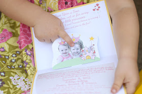 DIY Pop Up Invite - Storybook Princess Party