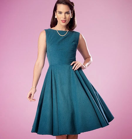 I Have Two New Butterick Patterns Out Just Released Yesterday The First Is B6094 This A Dress With Skirt Options And Surprise In Back