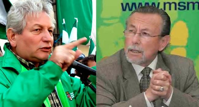 Políticos en Bolivia