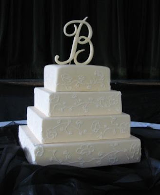 cakes with initials