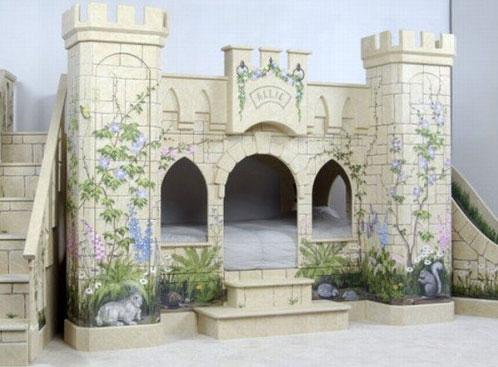 cama castillo