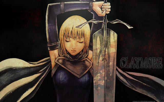 Wallpaper | Claymore | Sword | Anime Girl