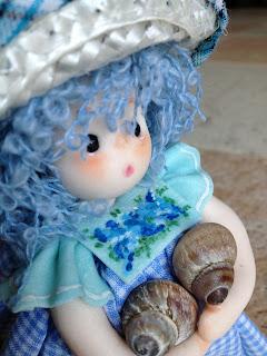 bambola in pasta di mais porcellana fredda