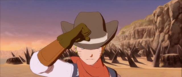 Cowboy Naruto Costume