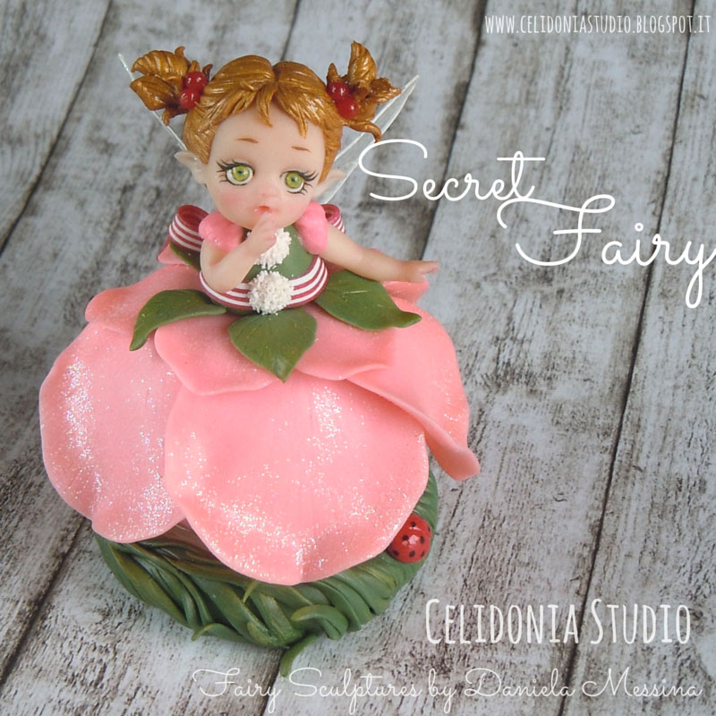 Secret Fairy, la Fatina dei Segreti - Celidonia Studio by Daniela Messina