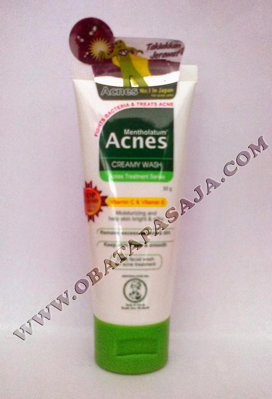 Kegunaan Acnes Creamy Wash Pembersih Muka