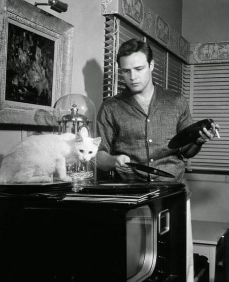 Brando likes vinyl