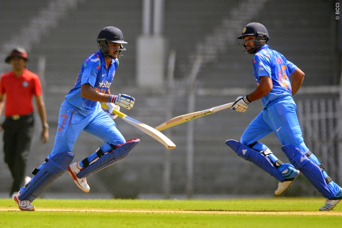 Rohit-Sharma-Manish-Pandey-India-A-vs-Sri-Lankans-Tour-Match-2014