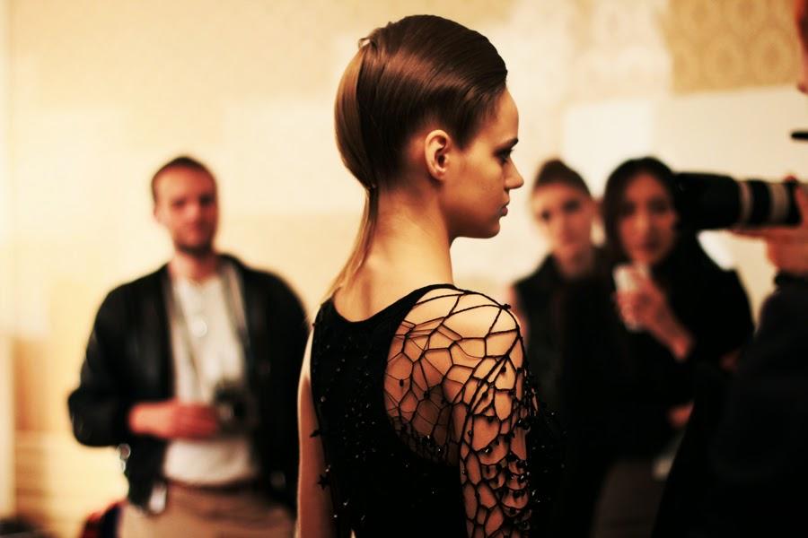 model fashion clothing berlin fashion week augustin teboul backstage