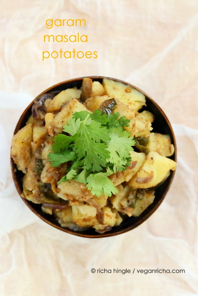 Garam Masala Potatoes