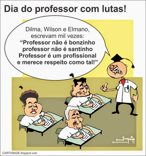 Especial dia do Professor