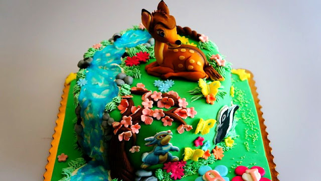 Bambi Birthday Cake London